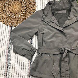 Zara Basics Olive Green Jacket